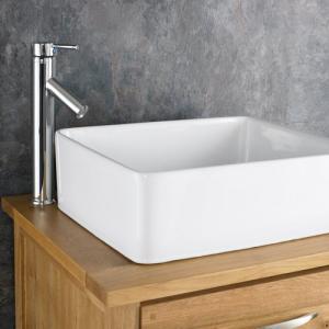Best White One piece Square pvc bathroom wash basin cabinet wholesale