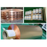 Best Color Uniformity Copper Flashing Rolls, ISO RA Annealed Soft Copper Foil wholesale