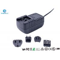 Best 18W Interchangeable Plug Power Adapter 12V 1.5A Switching AC/DC Adapters wholesale
