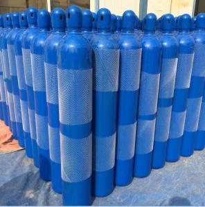Best Optional color 37Mn 3.4L - 14L Industrial Compressed Gas Cylinder 140mm diameter wholesale