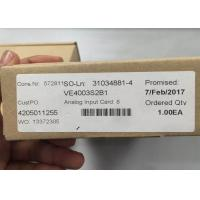 Best EMERSON DELTAV Analog Input Card VE4003S2B1, 8 Ch, 4-20mA, HART, SERIES 2 NEW wholesale