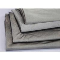 Cheap silver fiber antibacterial conductive fabric for anti radiation clothes 60DB at 3GHZ for sale