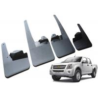 Best Durable Plastic Car Mud Guards , ISUZU 2008 DMAX Double Cab OE Mud Flaps wholesale