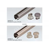 Slots Aluminum Street Rod : Details of slotted aluminum extrusion profiles for track