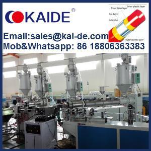 Best Ultrasonic Overlap Welding PPR-AL-PPR/PEX-AL-PEX Multilayer Composite Pipe Making Machine/Extrusion Machine/Production L wholesale