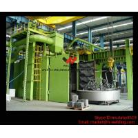 Best H beam Production Line Shot Blasting Machines for Rust Removing And Polishing of Surface wholesale