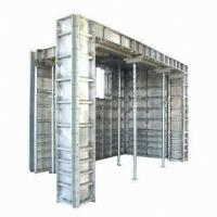 China Building Concrete Forming Aluminum Formwork System ,  Concrete Wall Formwork on sale