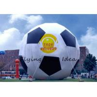 Best 15m Attractive Inflatable Advertising Balloon With Football Shape For Party wholesale
