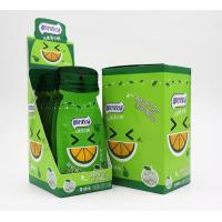 Best 16g Sugar free mint candy / Green Orange Flavor with Vitamin C / portable sachat package wholesale