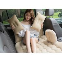 China Customized Color Inflatable Car Bed PVC Coating 2 . 6 -  2 . 7KG Packing Weight on sale