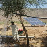 Best 4kw Solar Pv Water Pumping System / Solar Powered Water Pump Kit For Farming wholesale
