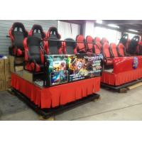 Cheap Comfortable 5D Simulator with Hydraulic 6 Degree of Freedom System for sale