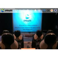 Best Installing 5D Cinema Equipment With Thrilling And Exciting Roller Coaster Movie wholesale