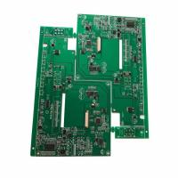 Buy cheap HDI Bluetooth control pcb assembly Green Soldmask White Silkscreen from wholesalers