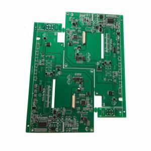 Best HDI Bluetooth control pcb assembly Green Soldmask White Silkscreen wholesale