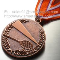 Best Blank tennis medals wholesale, custom metal engraved blank tennis medallions, wholesale