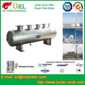 Quality Low Pressure Alloy steel drum Boiler Mud Drum TUV with 10~1000ton wholesale