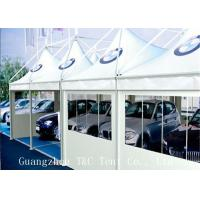 Best Car Exhibition Trade Show Tents Digital Printing With Hard Pressed Extruded Aluminum Alloy wholesale