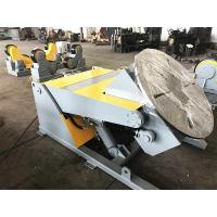 China 5T Hydraulic Elevating Welding Rotating Display Table With Remote Hand Control on sale