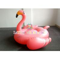 Best UV Resistant Wateproof Inflatable Flamingo Float With NAPA701 Flame Retardant wholesale