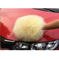 Cheap Auto Detailing Tool Car Cleaning Mitt With 100% Australia Natural Wool for sale