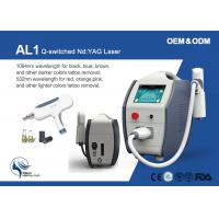 Buy cheap 2000mj Plug And Play Birthmark Makeup Q Switch Laser Tattoo Removal Machine from wholesalers