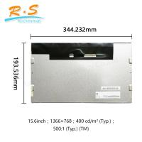 Buy cheap G156XW01 V1 15.6 lcd panel , 1366X768 16 / 9 LVDS SVGA tft lcd display Screen from wholesalers