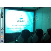 Cheap Convenient Moving Cabin 6D Motion Theater With Dynamic 9 Seatings for sale