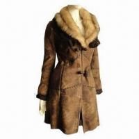 Best Faux Fur Coat, Elegant Fitting and Workmanship, Many Colors Available wholesale