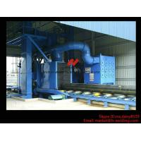 Best Roller Type H Beam Sand Blasting Machines With 8 Shot Blaster And Dust Collection System wholesale