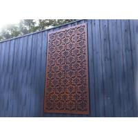 Best Chinese Style Metal Wall Sculpture Rustic Color For Garden / Public Decoration wholesale