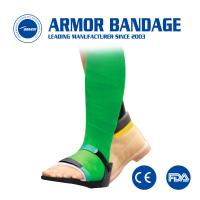 Buy cheap Soft surface fiberglass synthetic casting tape bandage for orthopedic from wholesalers