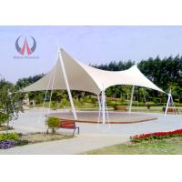 Quality Strained Membrane Park Shade Structures Outdoor Shade Awnings Knock Down Type wholesale