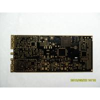 Best 6 Layer 1.6mm Finish Thickness FR4 Immersion Gold Rigid PCB Board / Flex Rigid PCB For Industrial Control wholesale