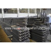 Quality BS3059 PT 1/ 2 OD 2'' HH Fins Marine Boiler Square Fin Tube with 90 Degree Bends wholesale