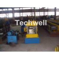Best 12-15m/min Forming Speed Box Beam Rack Roll Forming Machine for Upright Rack , Storage Shelf wholesale