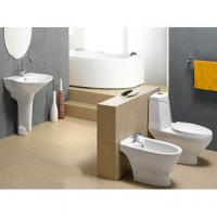 Buy cheap smoothly graze bathroom ceramic siphonic wc bowl and washdown water closet from wholesalers