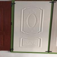 Best Friendly environmental White faced Door Skin with many styles for choice wholesale