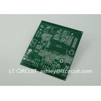 Buy cheap Double Sided 3oz Blank Copper Pcb Board Immersion Silver Plating Green Solder Mask from wholesalers