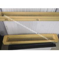 Best Flat Type High Flow Panel Pleated Filter Cartridge 500 mm Flange Width For Cement Silo Top wholesale