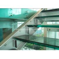 Quality Double Glazed Window Laminated Safety Glass Panels 4.38mm Annealed Security wholesale