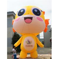 Quality Promotional Activities Yellow Inflatable Cartoon Characters 3 Years Warranty wholesale