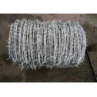 Best 1.5cm - 3cm High Tensile Barbed Wire BWG16 Single Electric Fence Barbed Wire wholesale