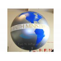 China Custom Advertising Earth Globe Balloons With Digitally Printed 2 Years Warranty on sale