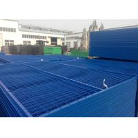 Best Welded Wire Fence Canada Temporary Fencing 7FT X 8FT Width 30MM X 1.5mm Frame Side Tube wholesale