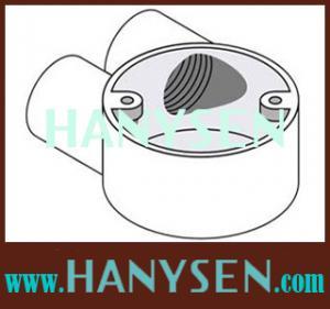 China bs4568/61386 galvanized malleable iron conduit box on sale