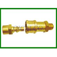 China Propane / Natural LP Gas RV Quick Connect 1/4 Quick Connector X 1/4 Male NPT on sale