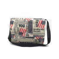 Best 420D Polyester Travel Messenger Bag Pouch With Printing / Embroidery Logo wholesale