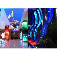 Best P3.91mm Indoor Curved Shape LED Screen Outdoor Flexible LED Video Wall Display wholesale