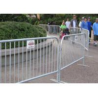 Best Road Crowd Control Barricades Pedestrian Control Barriers For Construction Site wholesale